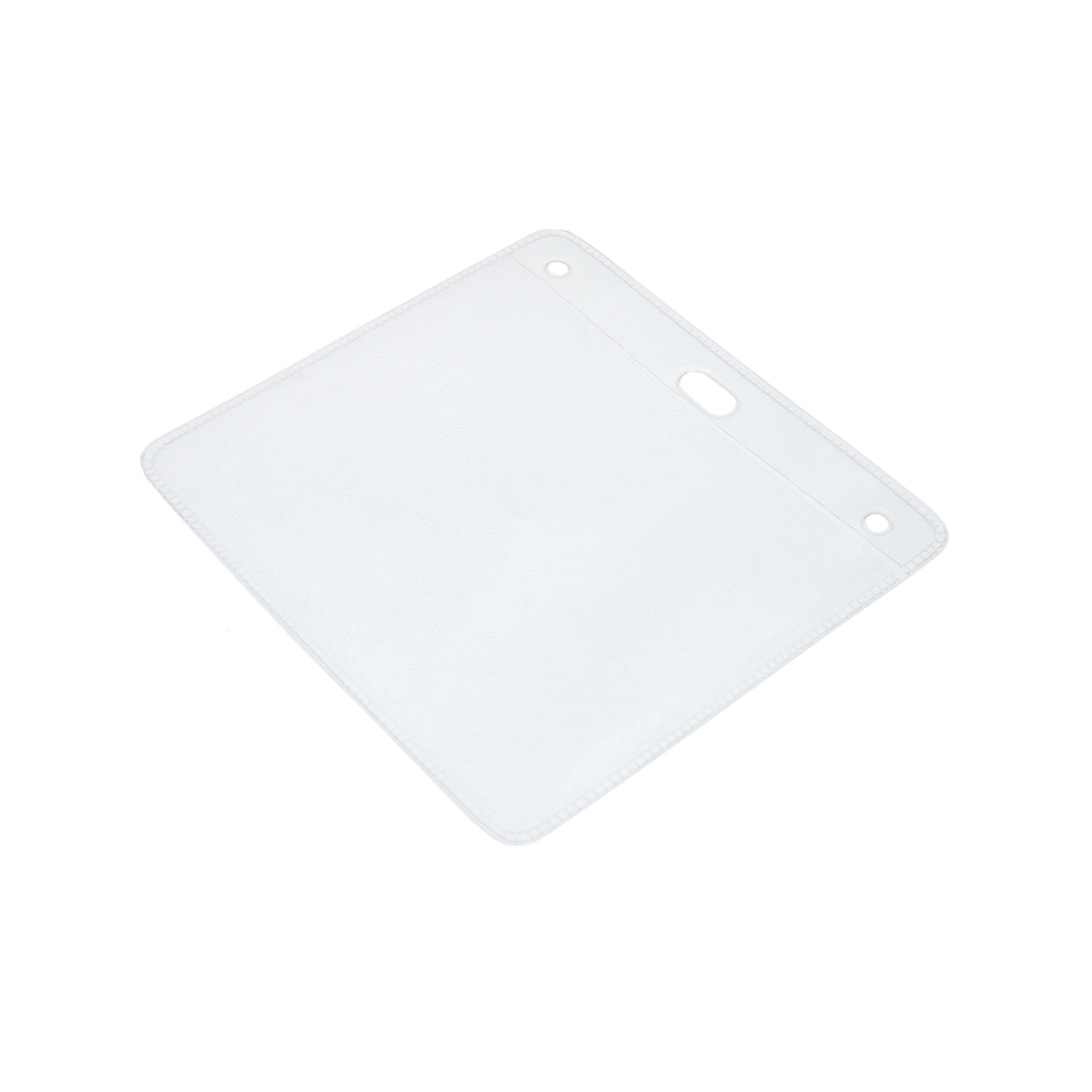 clear oversized plastic wallet