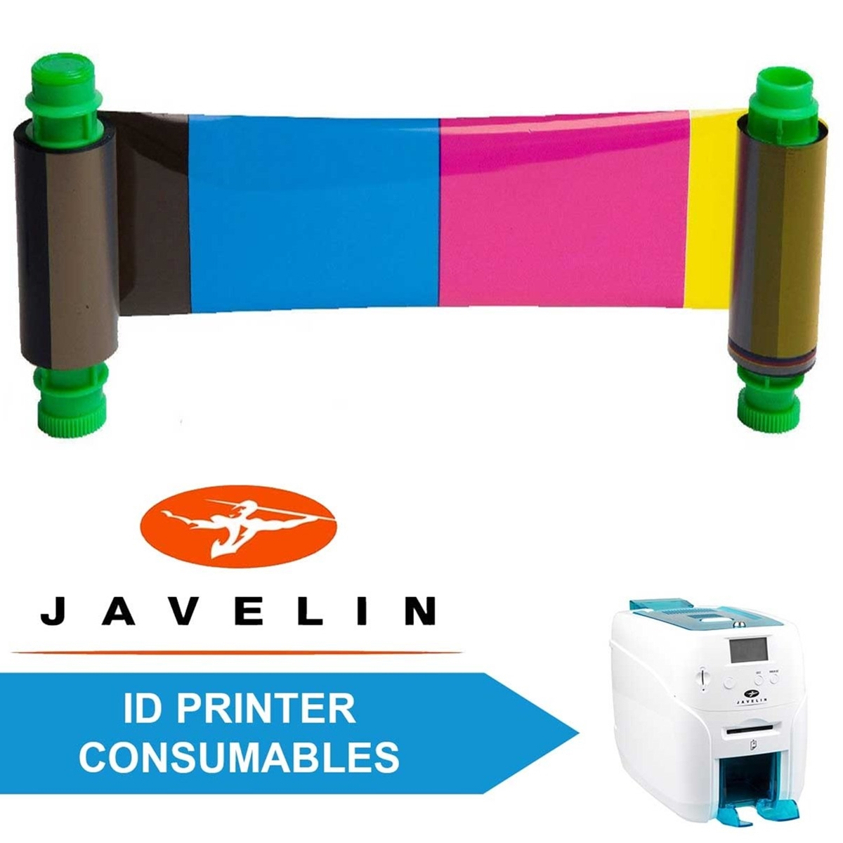 Consumables for Javelin DNA & DNA Pro ID Printers