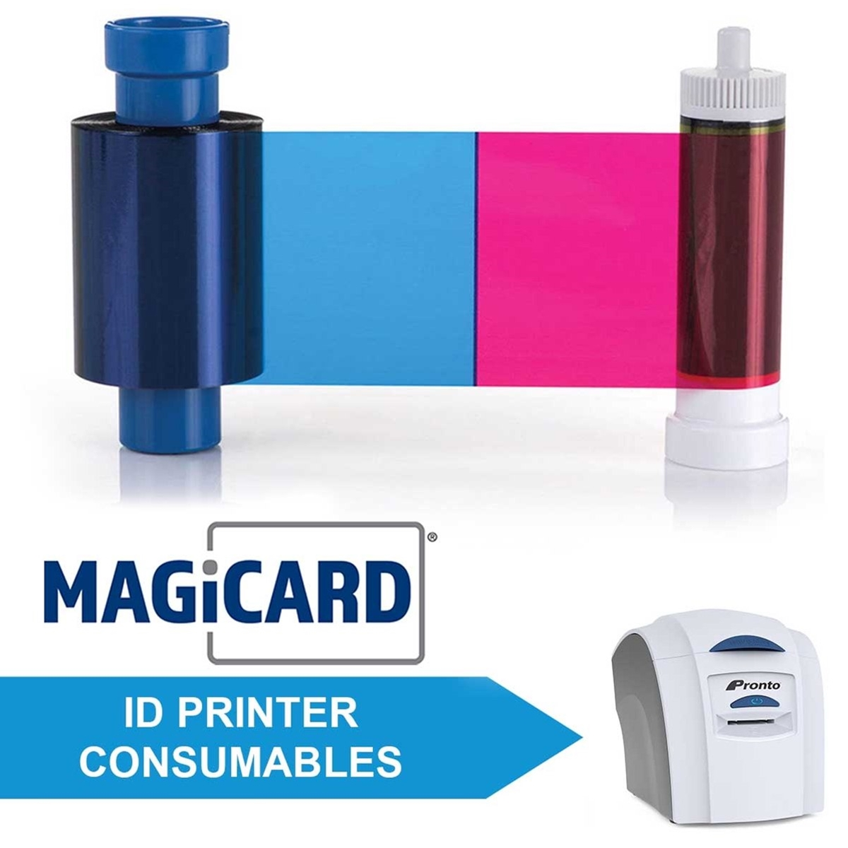 Consumables for Magicard Pronto ID Printers