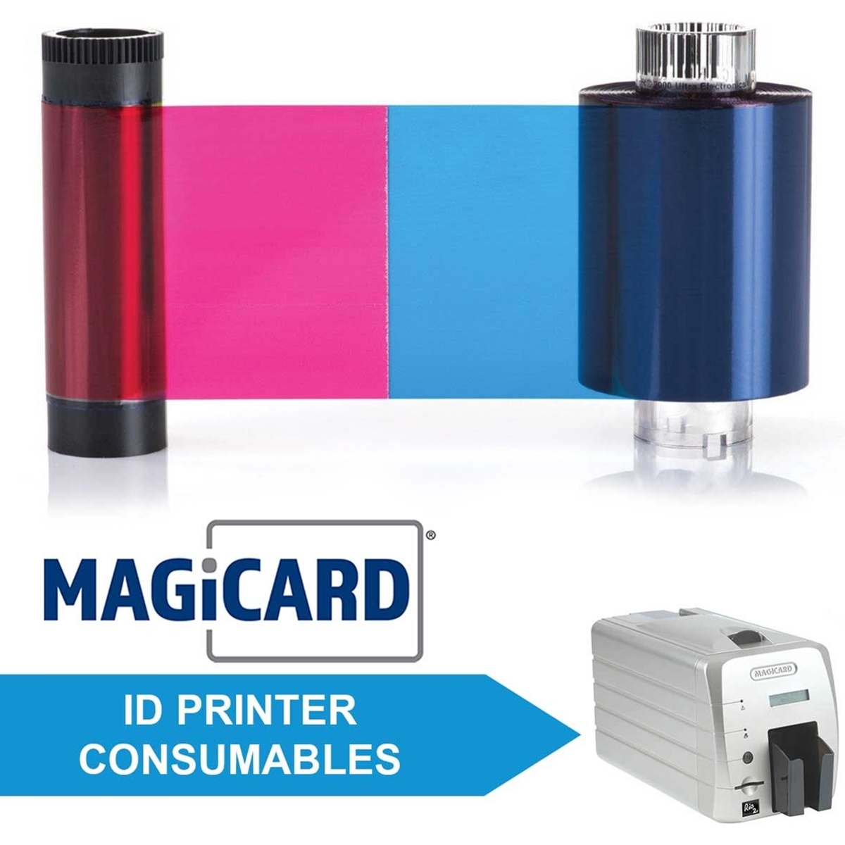 Consumables for Magicard Rio and Rio 2 and Rio 2E ID Printers