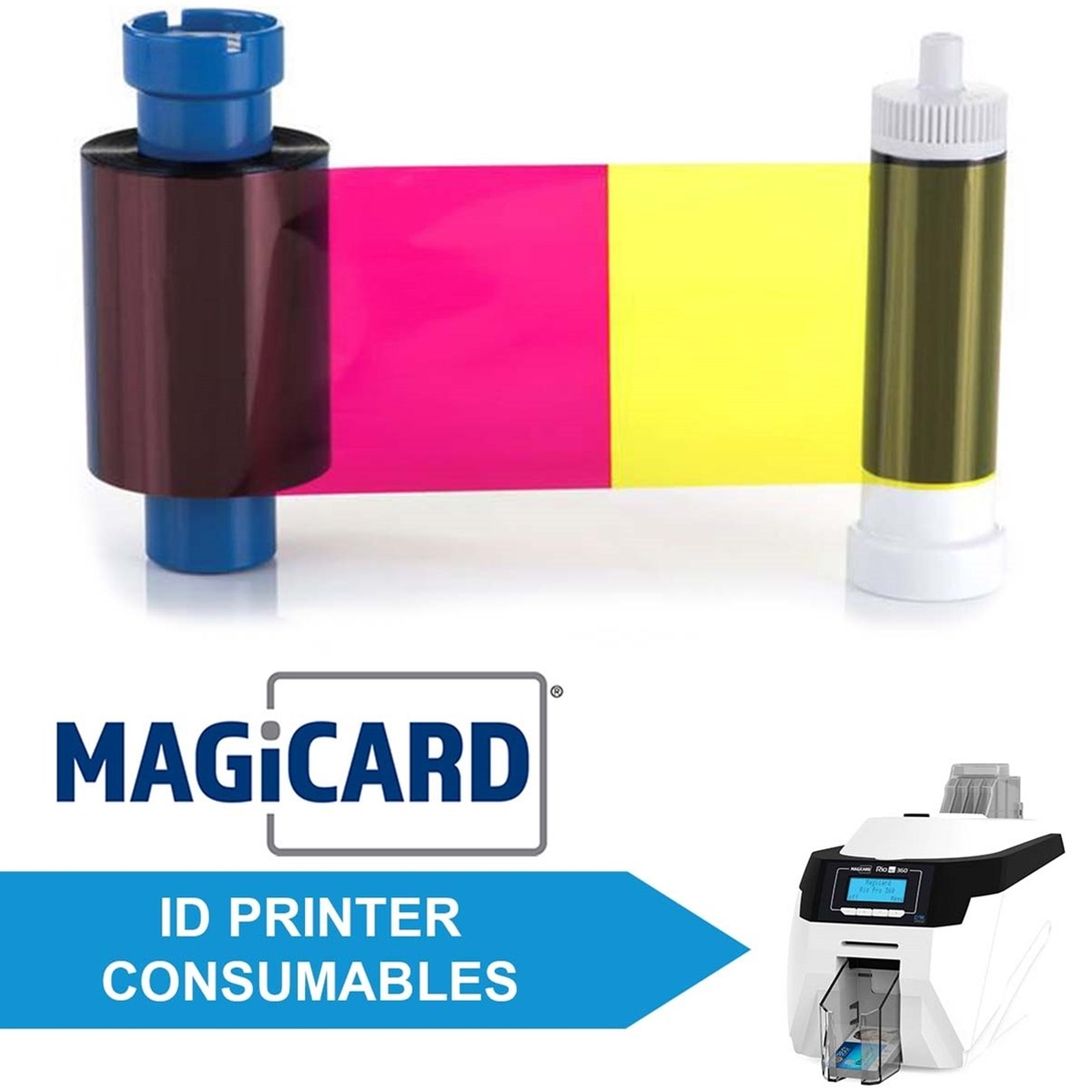 Consumables for Magicard Rio Pro 360 ID Printers