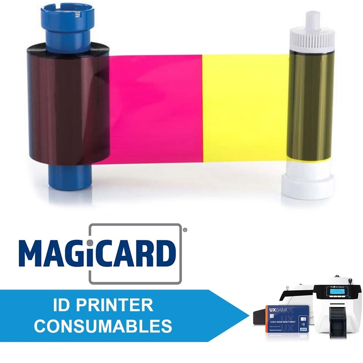 Consumables for Magicard Rio Pro 360 Secure ID Printers