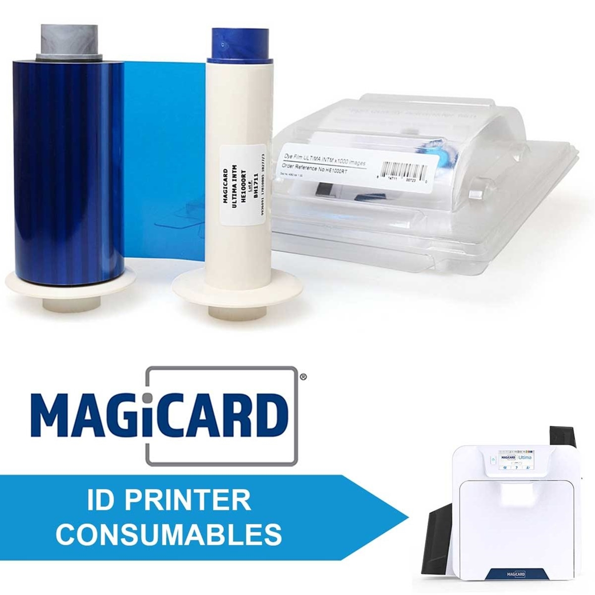 Consumables for Magicard Ultima ID Printers