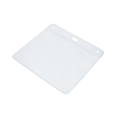 clear plastic oversized plastic wallet