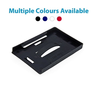 black multi id card holder showing multiple colours available